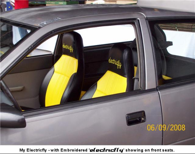 electricfly Upholstered Seats
