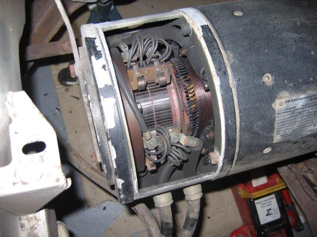 Motor commutator