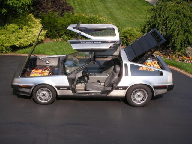 Dave Delman's 1981 DeLorean DMC-12