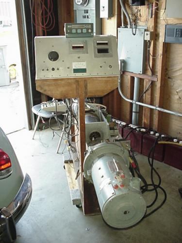 Electric dyno motor test Electric motor dynamometer testing