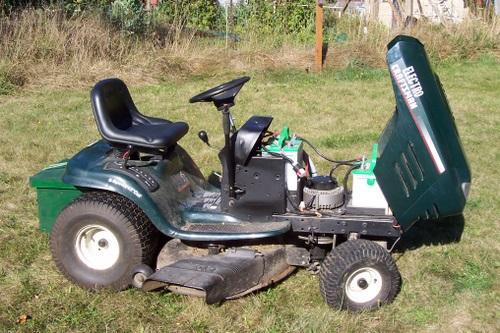 Mower conversion