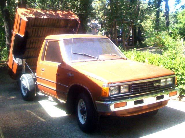 83 Nissan 720 pickup