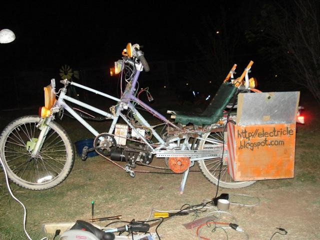 CrazyBike2 Electricle