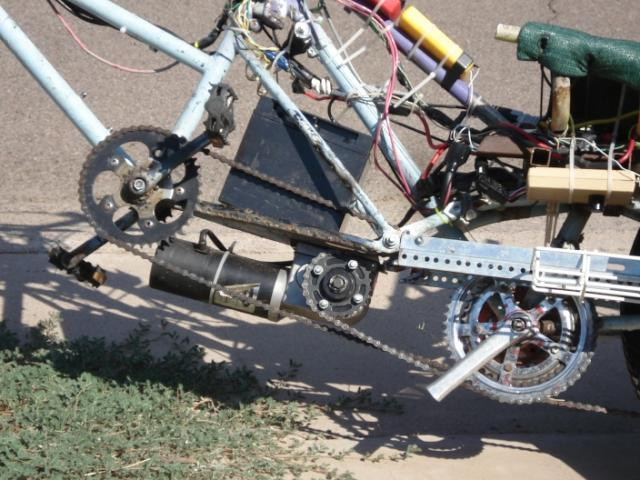 CrazyBike2 Electricle Drivetrain