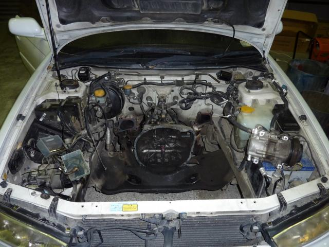 After engine removal