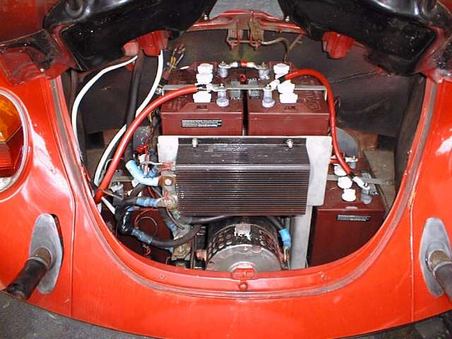 Motor And Batteries In Rear