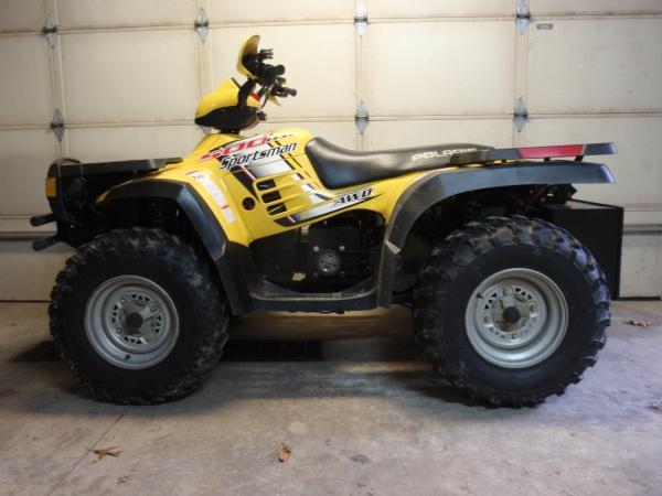 ATV after conversion, side shot