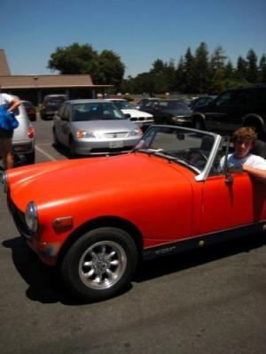 Eric Schmidt's 1976 MG Midget