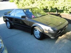 1986 Toyota Mr2 Electric Car Zev Before Conversion