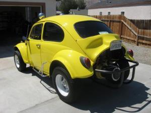 Yellow Bug Electric Baja