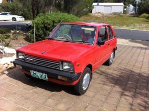 Richard & Fiona's 1983 Suzuki Hatch/Van
