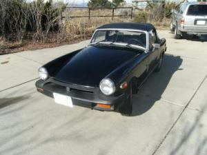 My Electric '77 MG Midget