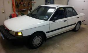 1992 Electric Mazda Protege