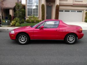 Electric Honda Del Sol