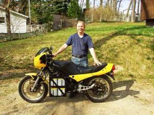Terry Richards' Yamaha RZ350 Motorcycle