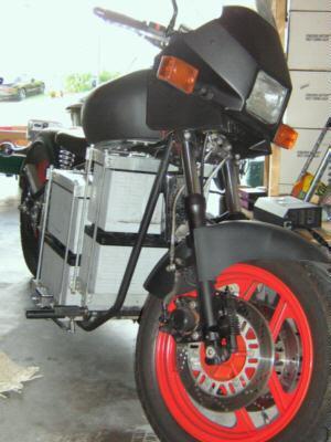 Kendall Moran S Electric Motorcycle